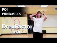 Basic Poi Dancing Tutorial: Windmills - YouTube