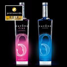 Silver Pentaward 2012  Beverages –  Spirits    Brand: CAVODA Vodka    Entrant: Linea    Country: FRANCE    www.linea-packaging.com