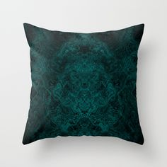 Into the Mist-ic Throw Pillow