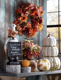 Fall Decorating Ideas: Shorter days, chilly evenings and a bounty of gorgeous fall colors all provide the right inspiration for changing up décor in the heart of your home – the kitchen and dining room. Let these decorating ideas get you started on bringing a touch of fall to your kitchen and dining room. #falldecor