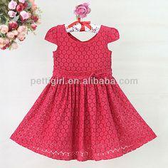 Los niños 2015 vestido de encaje rojo para vestido de niña de las flores de la princesa vestidos de venta al por mayor kid's gd30721-20 clothese-Vestido de niña-Identificación del producto:1148399773-spanish.alibaba.com