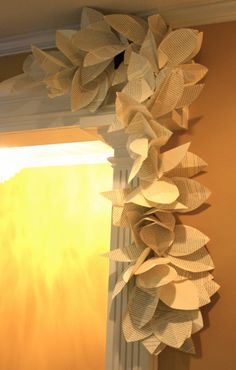 DIY Book Page Garland and Wreath | The Nesting Place | The Nester |