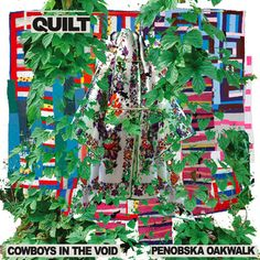 """""""cowboys in the void,"""" quilt"""