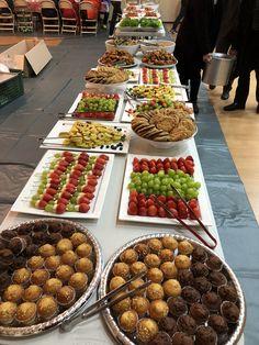 Church food buffet