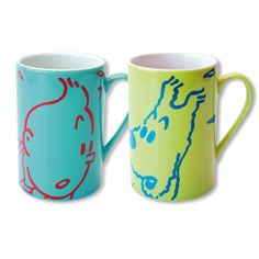 Tintin and Snowy mugs | Tintin Boutique