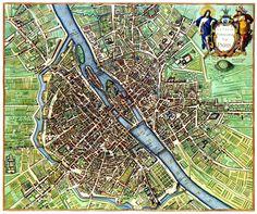 1657 plan of Paris