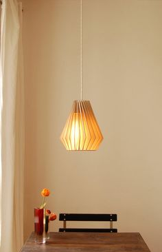 Wooden Lamp, by iumi SteckDesign