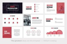 Ad: CORPO Business Powerpoint Template by SlidePro on A business Powerpoint template with sleek slides suitable for corporate presentations. With CORPO you have everything you need to make a Powerpoint Free, Professional Powerpoint Templates, Business Powerpoint Templates, Ppt Template Design, Ppt Design, Keynote Template, Graphic Design, Corporate Presentation, Presentation Design