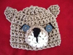 ▶ How to crochet a little bear hat, newborn to 1 year, crochet pattern - YouTube