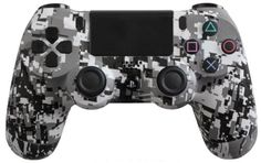 PlayStation 4 DualShock 4 Custom PS4 Controller with White Urban Shell | eBay