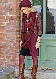 Kožená bunda, Aniston Punk, Marsala, Shopping, Style, Fashion, Fashion Styles, Swag, Moda, Punk Rock