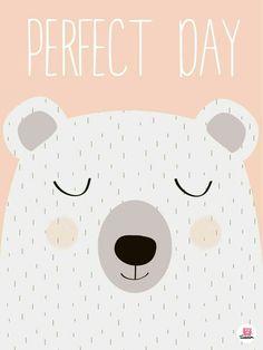 Cute/Sweet Animals. Bear. [Drawing]