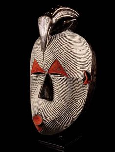 Mask from Congo. See too the following site for additional African mask images and information: http://www.zyama.com/index.htm