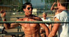 No way to get around this: Tom Cruise shirtless= HOT!