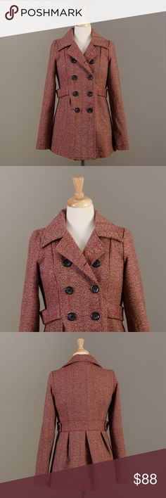 "[Urban Outfitters] Needle & Thread wool jacket excellent, like new condition  Bust - 18""	 Length - 29""	 Arms - 20""  R4 Urban Outfitters Jackets & Coats Pea Coats"