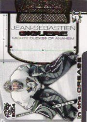 2003-04 Pacific In the Crease #1 Jean-Sebastien Giguere by Pacific. $0.47. 2003 Pacific Trading Cards trading card in near mint/mint condition, authenticated by Seller