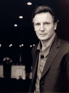 Liam Neeson is my inspiration for Kevin Kingston, Elise, Ava and Bree's dad. My husband always joked that Liam Neeson reminds him of my father. Liam Neeson, Gorgeous Men, Beautiful People, Hommes Sexy, Raining Men, Black And White Portraits, Best Actor, Famous Faces, Movie Stars