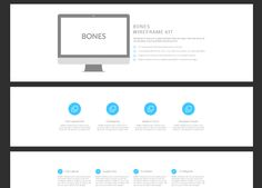 BONES Wireframe Kit | 2bundles.com