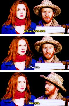 [gifset] Don't follow me under any circumstances. #DoctorWho