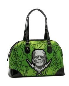 Sourpuss Hold Fast Nautical Emo Goth Aqua Purse Punk Tattoo 50S Handbag Tote