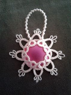 This little beauty was made by me using a slight variation to the original ice drop pattern. I love it the most!