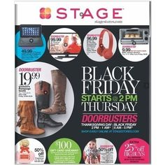 Stage Black Friday 2015 Ad Page 1