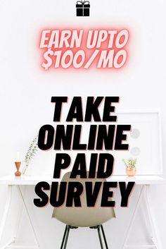 Legit Survey Site that pays upto $100/mo... Netflix Free, Survey Sites That Pay, Take Surveys, The 100