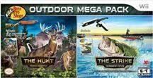Bass Pro Shops Outdoor Mega Pack: The Hunt and The Strike Video Games Wii Games, Mega Pack, Sports Games, Fishing Rod, Winter Christmas, Nintendo Wii, Bass, Video Games, Outdoors