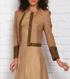 Golden Embroidered & Sequined Jacket