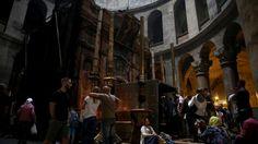 Archeolodzy+badają+Święty+Grób #popolsku