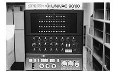 Sperry Univac 90/60 Computer console