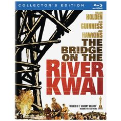 Bridge on River Kwai released 1957 with William Holden, Jack Hawkins, Alec Guinness etc directed by David Lean. I just got the Blu Ray and the extra features are fabulous! Cinema Tv, I Love Cinema, Cinema Posters, Film Posters, Old Movies, Great Movies, Westerns, David Lean, Movie Posters