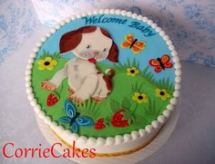 pokey little puppy  Cake by Corrie