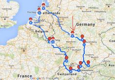 Epic European Road Trip Itinerary
