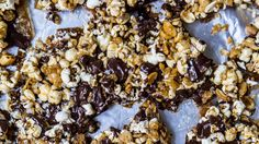 The toffee mixture will harden as these cool, transforming into a snappy, crunchy layer that holds everything together.