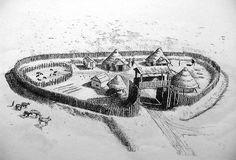 Iron Age Hillfort. #Woad novel inspiration.