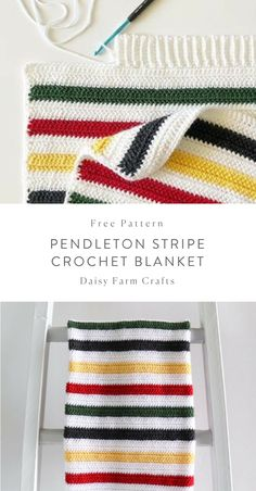 Watch The Video Alluring Beginner Crochet Blanket Ideas. Crochet Afgans, Diy Crochet, Crochet Crafts, Crochet Baby, Crochet Projects, Crotchet, Crochet Toys, Striped Crochet Blanket, Crochet Blanket Patterns