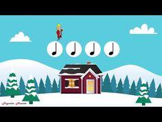 Deck the Halls | Kids Christmas Songs | Rhythm practice | Lectura rítmica - YouTube