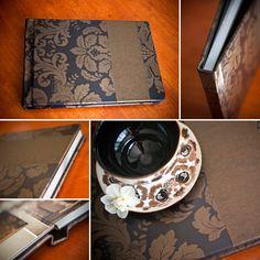 Wedding Album, Photo Album, Photo Book by Finao www.finao.com - Kokoro Photography.  Art of seduction has all the sample covers to help you design your Boudoir Album. www.artofseductionchicago.com