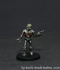 Another model from FFG's Imperial Assault game's Return to Hoth expansion set. Hk 47, Ffg Star Wars, Han Solo Figure, Grand Inquisitor, Star Wars Imperial Assault, Tusken Raider, Deathwatch, My Kind Of Town, Star Wars Characters