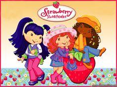 strawberry shortcake | Strawberry Shortcake Cartoon Wallpaper