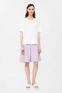 COS | Wide-leg short trousers
