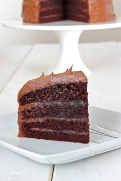 Delicious and Moist Chocolate and Coffee Cake