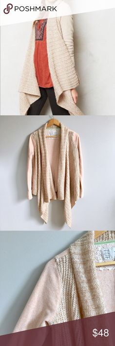 Anthropologie Casado Cardigan Anthropologie Casado Cardigan DETAILS Saturday/Sunday pays homage to the unique comfort of the weekend with detailed basics in cozy fabrics. And we're fairly certain it doesn't get any cozier than this sweatshirt-meets-sweater knit. By Saturday/Sunday Cotton, polyester Size Sal but can for medium Anthropologie Sweaters Cardigans