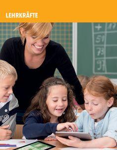 """Apple-Programme """"iPads im Unterricht"""" und """"DaF/DaZ mit iPads"""" I Hinweise für Lehrkräfte, Politik & Schulträger I iBook: Das iPad-Kompendium www.tablets-im-unterricht.de"""