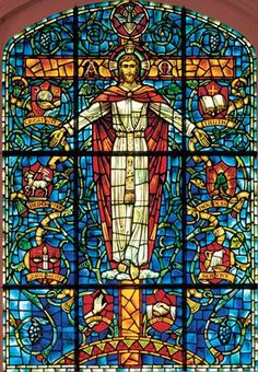 Octagon Anderson Stained Glass Windows | ... highlights stained glass window. I love this stained glass window