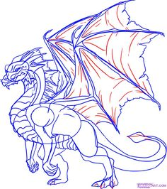 How to Draw a Dragon Step by Step, Step by Step, Dragons, Draw a ...