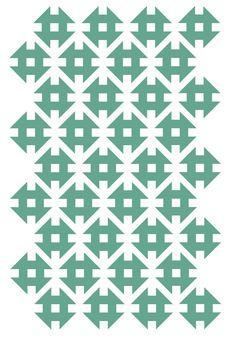 Pattern by textile designer Sarah Renwick