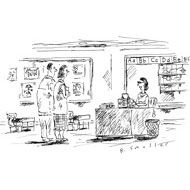 """""""We've found that by applying just the tiniest bit of an electric shock, test scores have soared.""""  Cartoons from the Issue of October 22nd, 2012 : The New Yorker"""