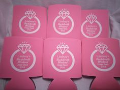 Bachelorette Koozies design 12910812 by odysseycustomdesigns